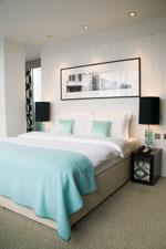 Chiswick Moran hotel bedroom