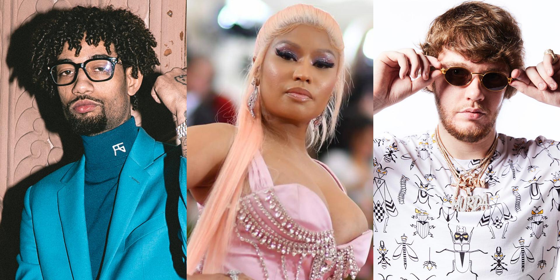 Nicki Minaj, PnB Rock, and Murda Beatz collaborate on new song 'Fendi'