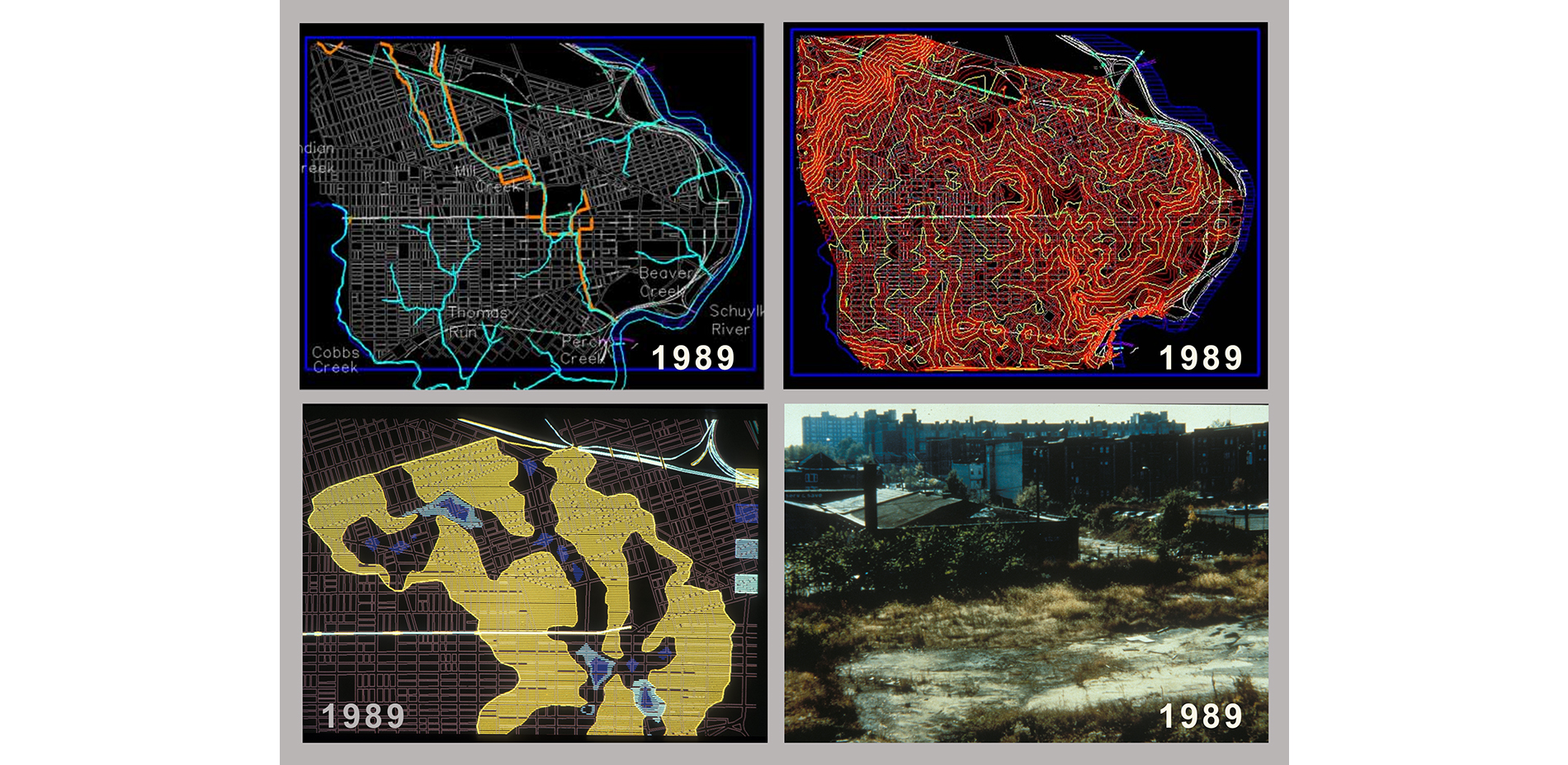Mapping the Buried Floodplain (1989)