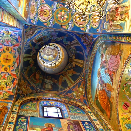 Option to visit the Church of the Saviour of the Spilled blood, St. Petersburg
