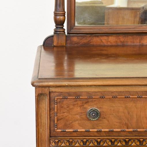 Antique Quot Berkey Amp Gay Quot Dresser Amp Mirror Loveseat Vintage