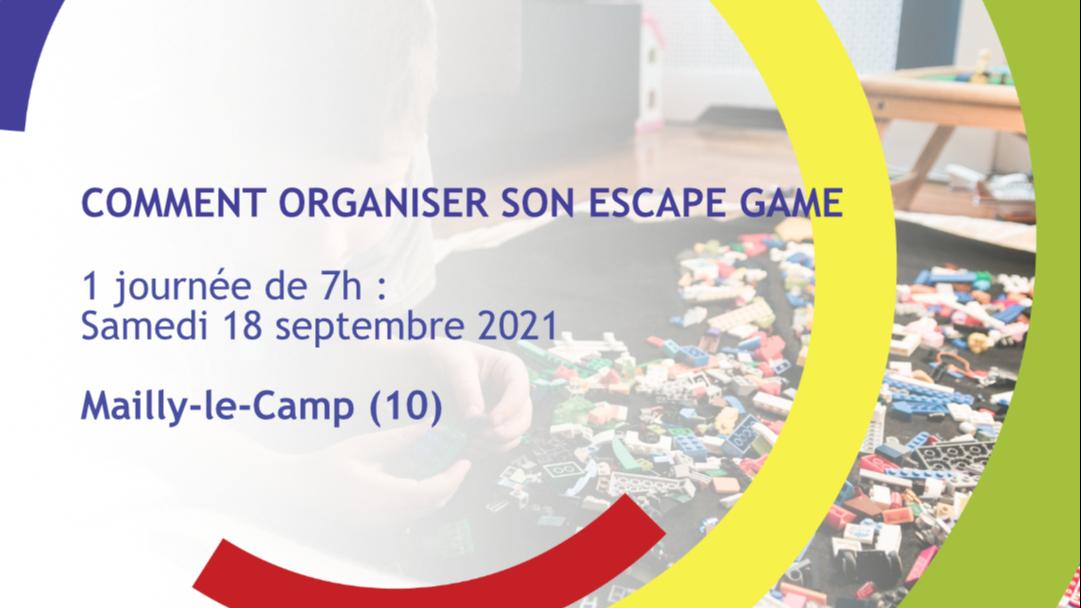 Représentation de la formation : Comment organiser son Escape Game en ACM - Arcis-sur-Aube (10)