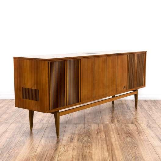 "Mid Century Modern ""Grundig"" Record Cabinet"