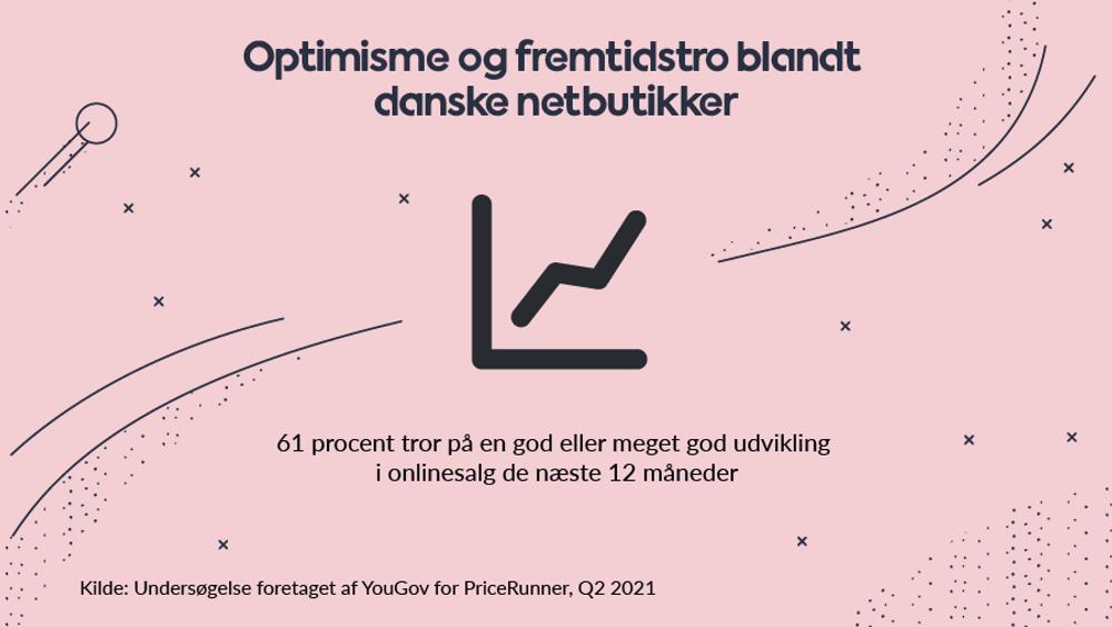 Optimismen er stor blandt danske e-handlere. De tror på en stærk fremtid for dansk onlinehandel efter et forrygende 2020, hvor store markedsandele blev flyttet fra fysiske til online butikker.