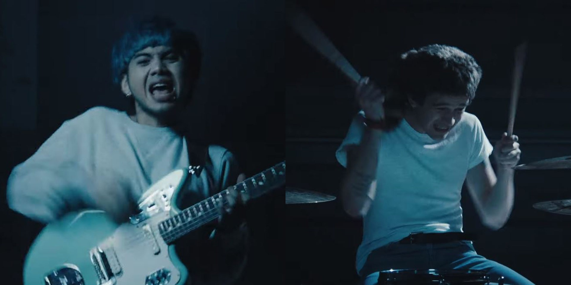 No Rome jams with Matty Healy in restless '5 Ways to Bleach Your Hair' music video – watch