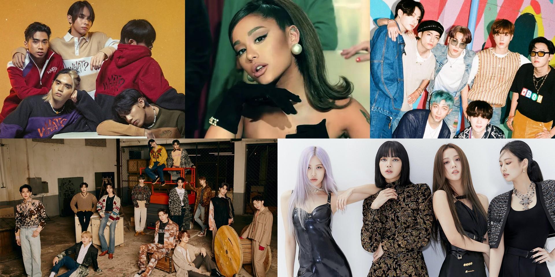 The fandoms that made BTS, BLACKPINK, SB19, Ariana Grande, and SEVENTEEN finalists at the Billboard Music Awards Top Social Artist Chart