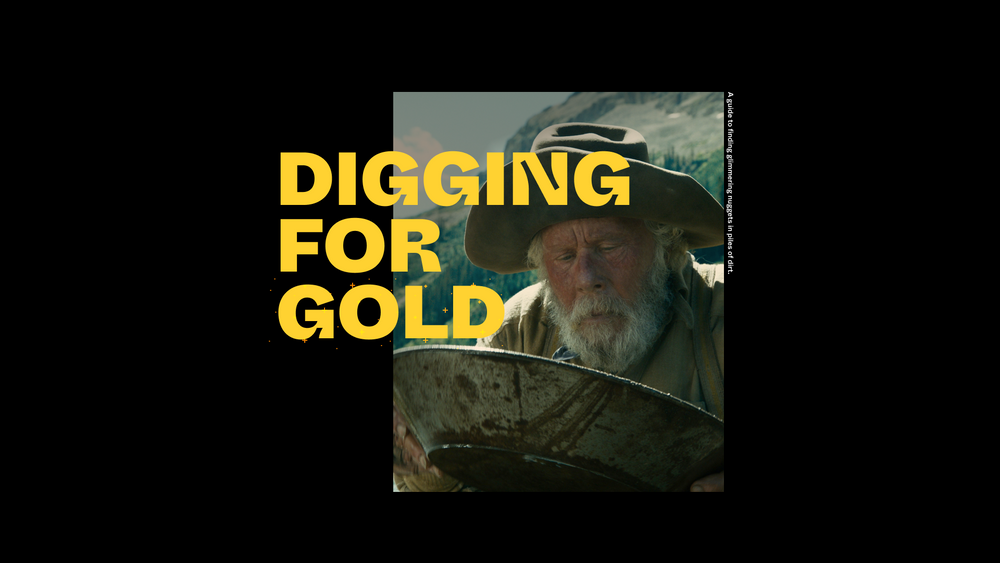 Tech Talk: Digging for gold