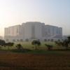 Bangladesh National Assembly, Exterior and Lawn (Dhaka, Bangladesh, n.d.)