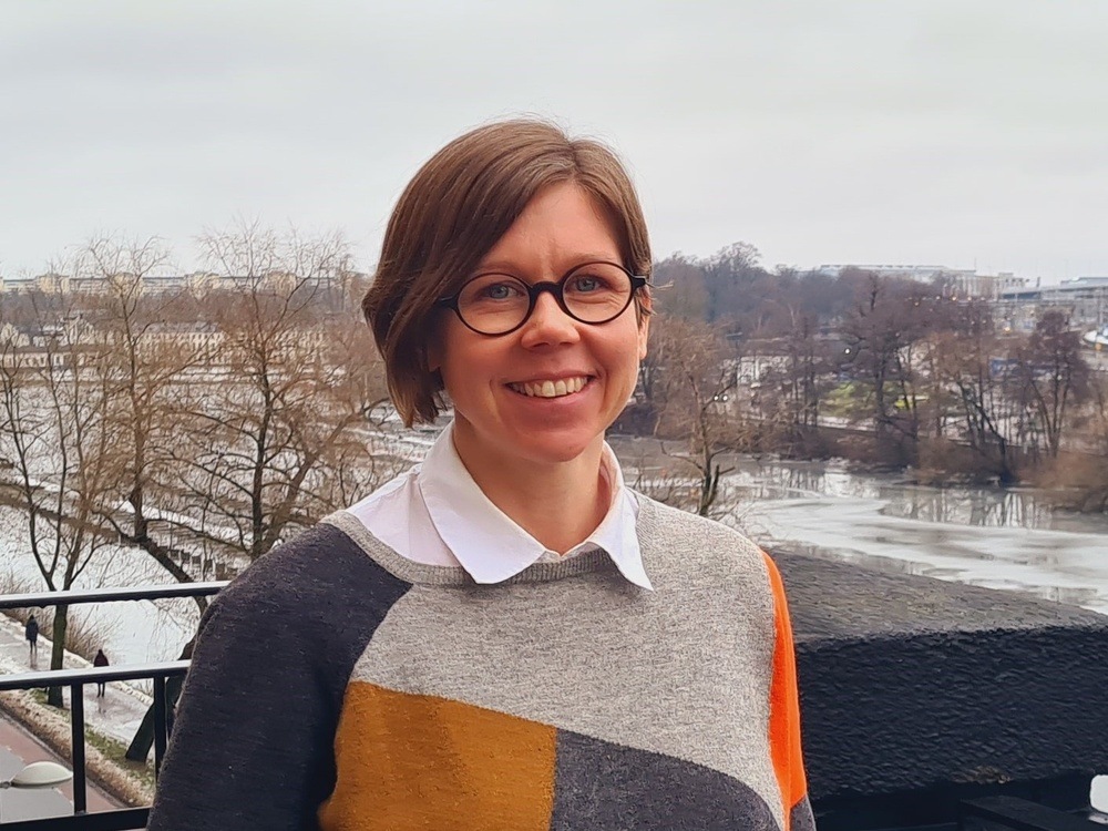 Stina Persson, Business and Application Architect