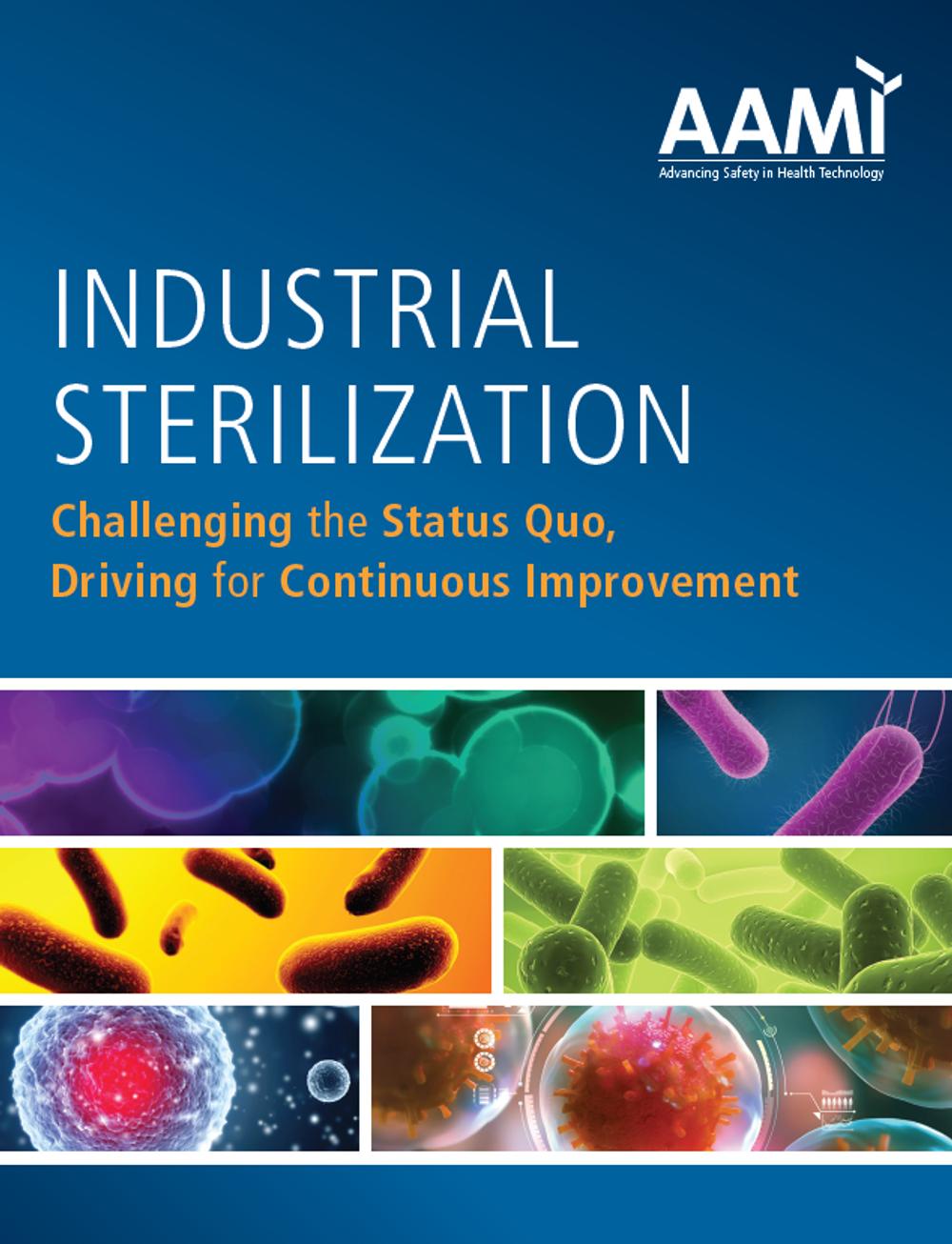 AAMI Industrial Sterilization 21 Cover