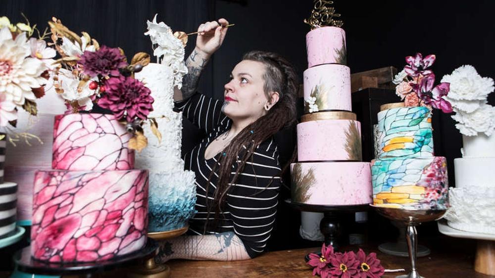 Liv Sandberg, Cake Art by LIv Sandberg, tidigare adept i NyföretagarCentrum Ung & Eget och deltagare i MIddlesex Universitys forskningsstudie.