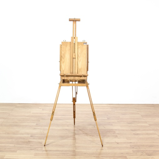 "Vintage ""Aaron Bros"" Studio Art Easel"