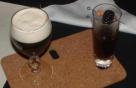 Victor Frankowski's signature drink and Irish coffee