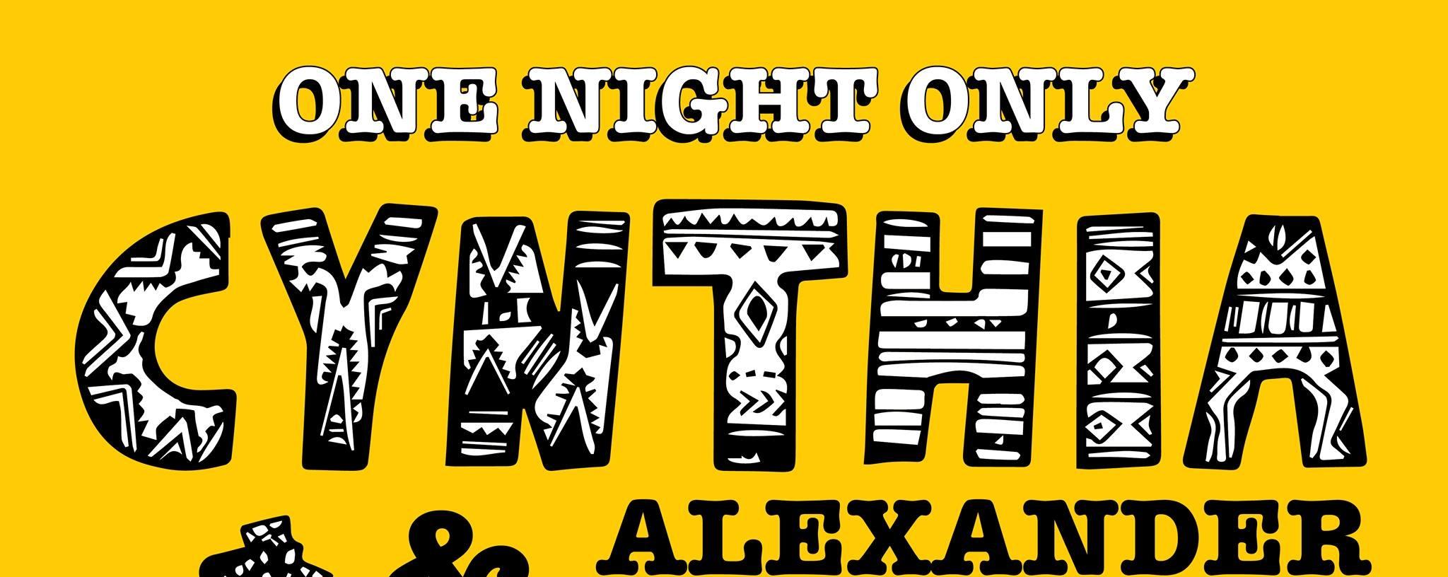 One Night Only: Cynthia Alexander & Joey Ayala