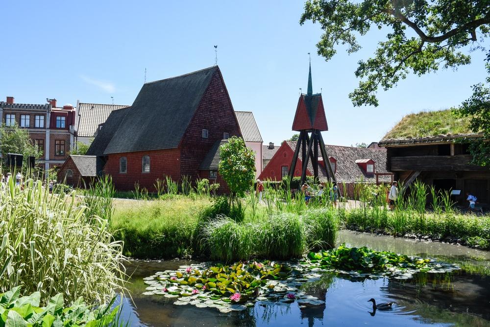 Denna träkyrka kommer från Bosebo i Småland och är byggd 1652. Kyrkan innehåller en mycket välbevarad interiör med målerier och snickerier och en fullt fungerande kyrkoorgel från sent 1700-tal. Här hålls fortfarande dop, bröllop, konserter och gudstjänster då och då.