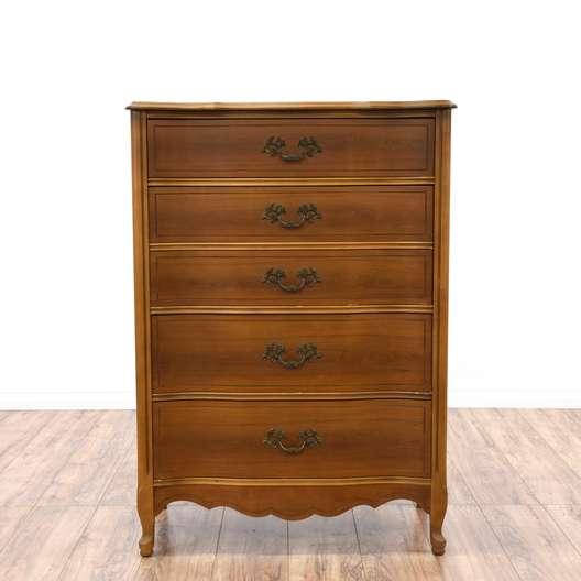 French Provincial Highboy Dresser