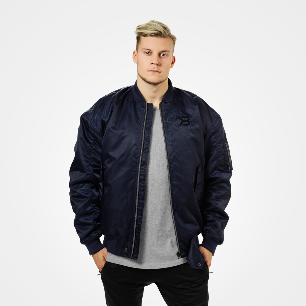 A product image of Astor Bomber Jacket, Dark Navy