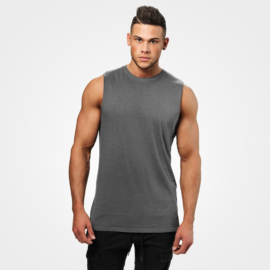 A product image of Bronx tank, Dark greymelange