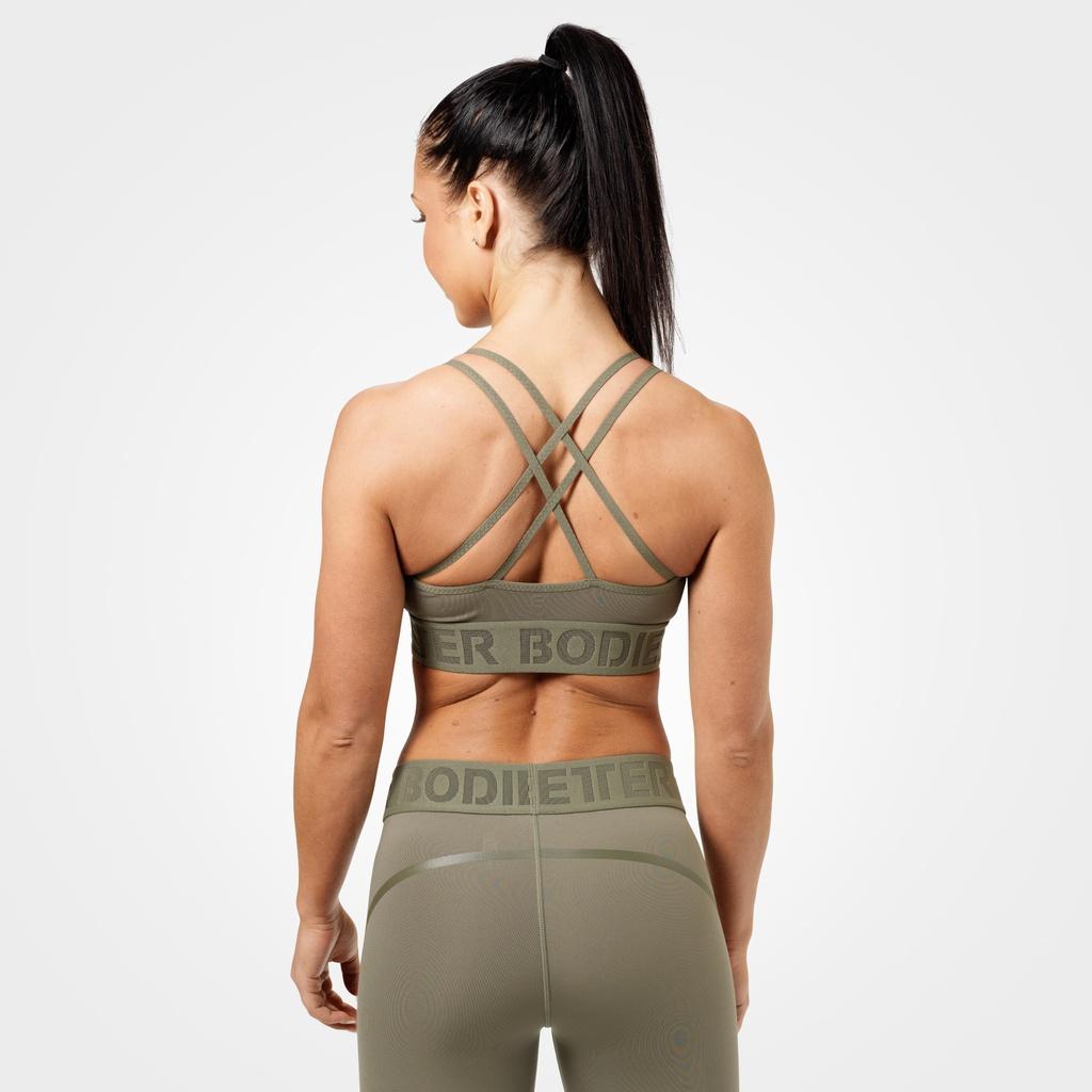 A product image of Astoria sports bra, Wash green
