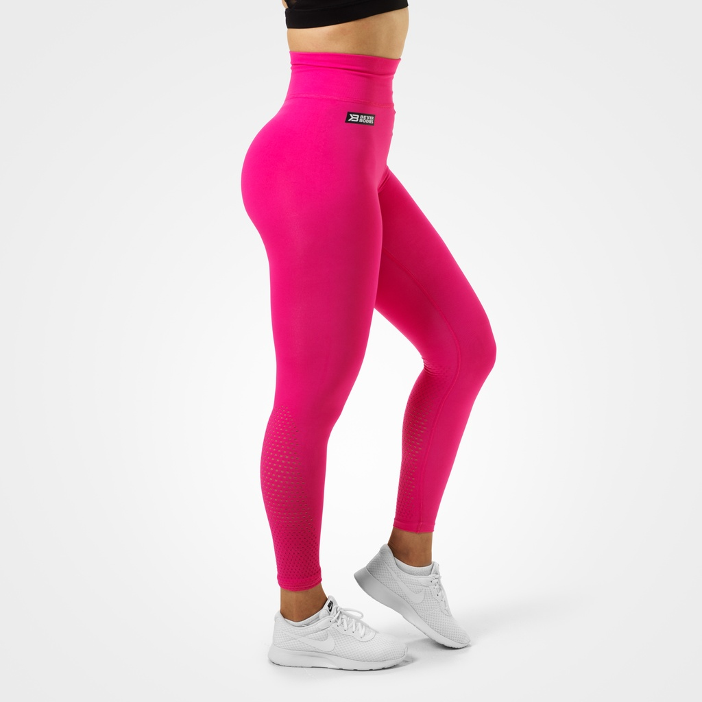 A product image of Bowery High Leggings, Hot Pink