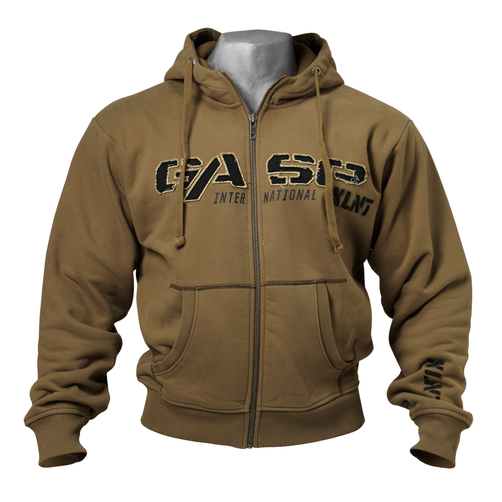 A product image of 1,2 Ibs hoodie, Military olive