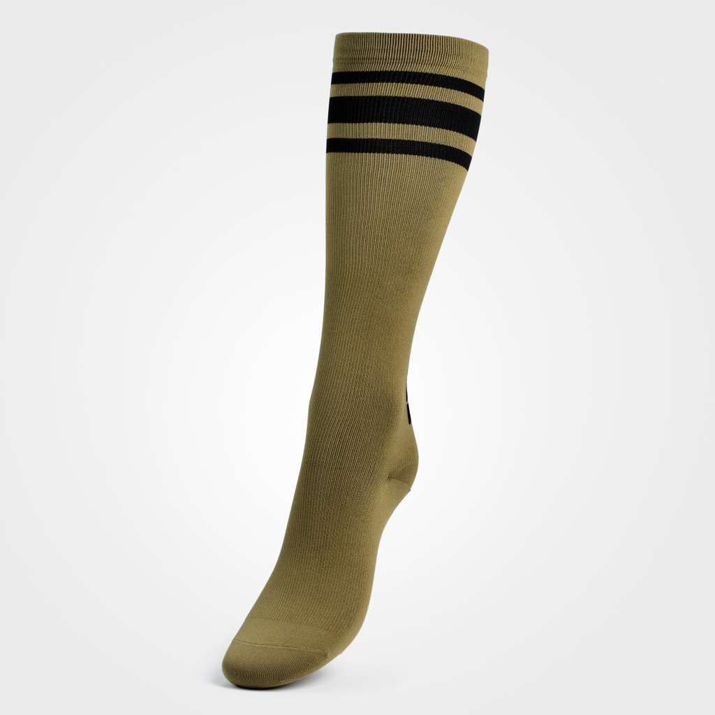 A product image of Knee socks, Military green
