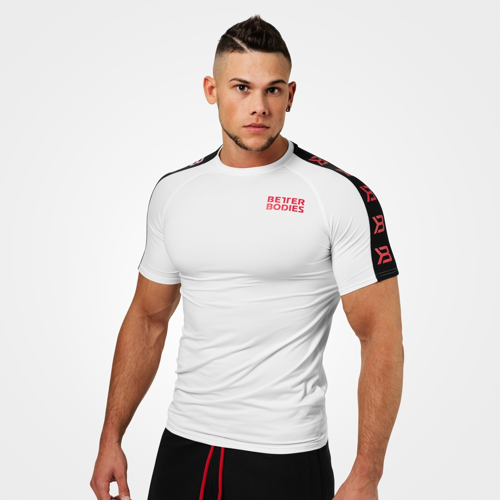 A product image of Tribeca Power Tee, White