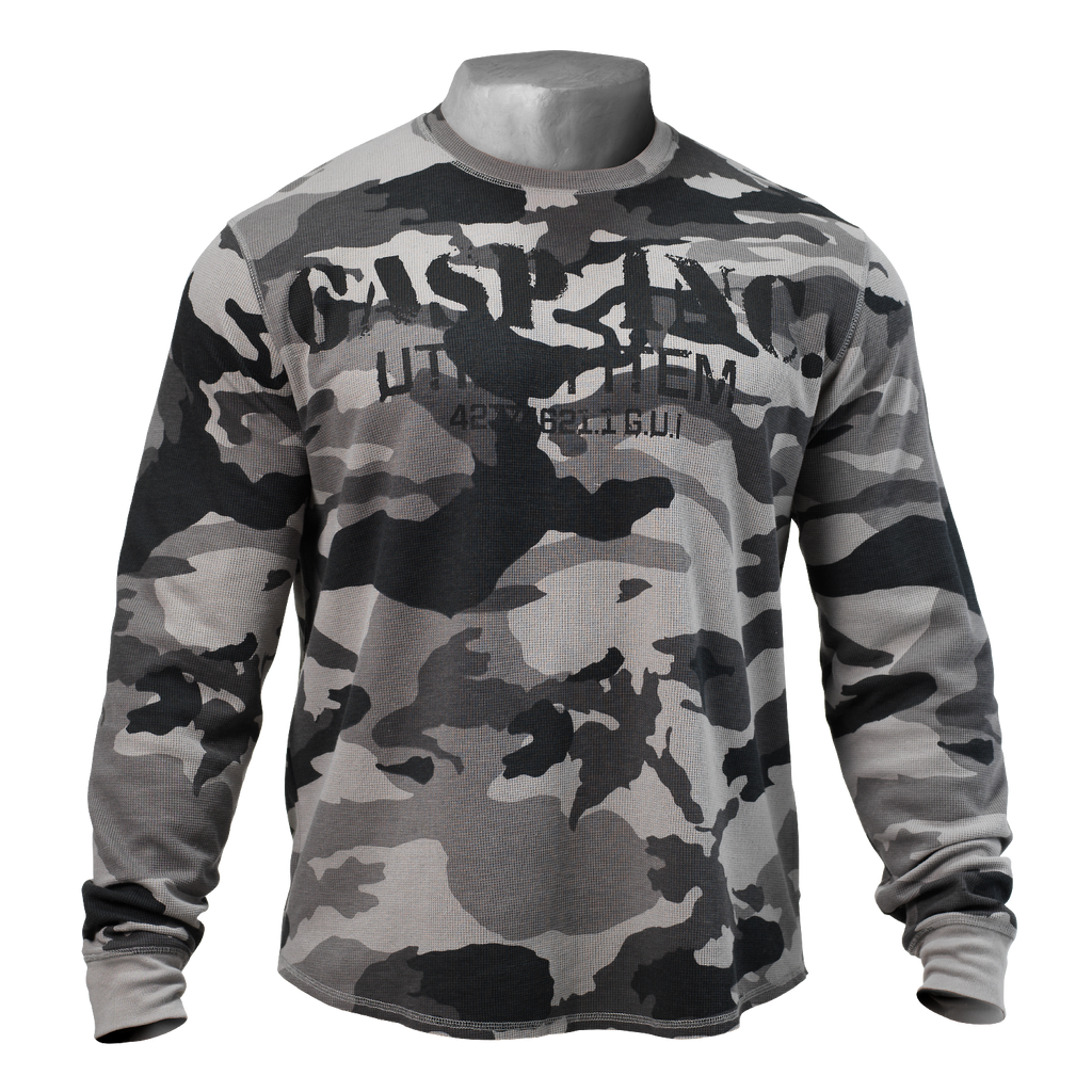 A product image of Thermal Gym Sweater, Tactical Camo