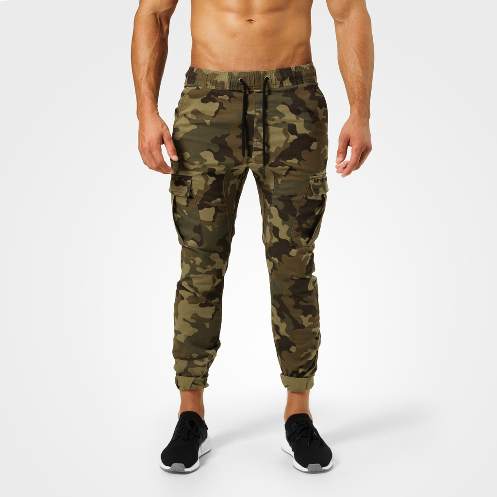 A product image of Harlem Cargo Pants, Military Camo