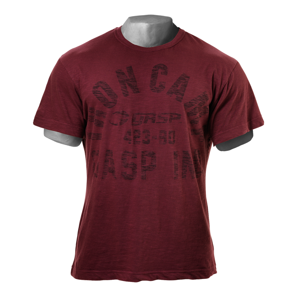 A product image of Throwback Slub Tee,  Maroon