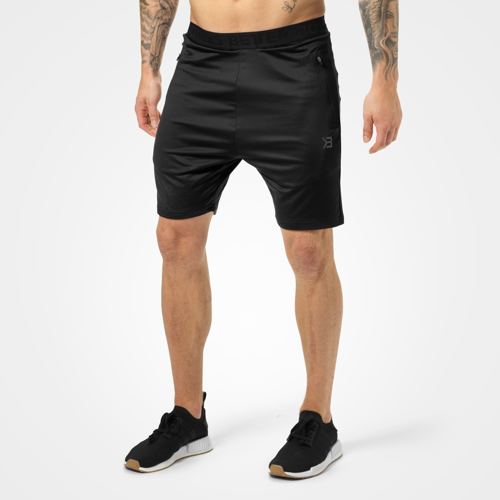 A product image of Brooklyn Gym Shorts, Black