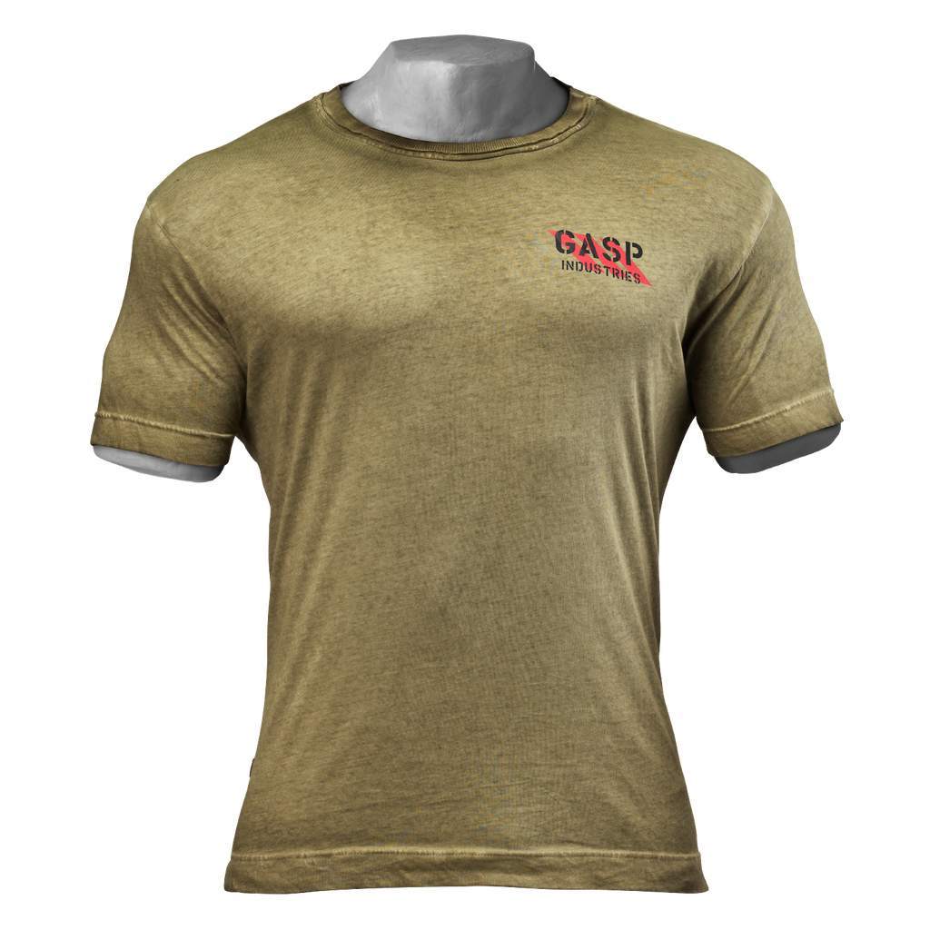 A product image of Standard issue tee, Military olive