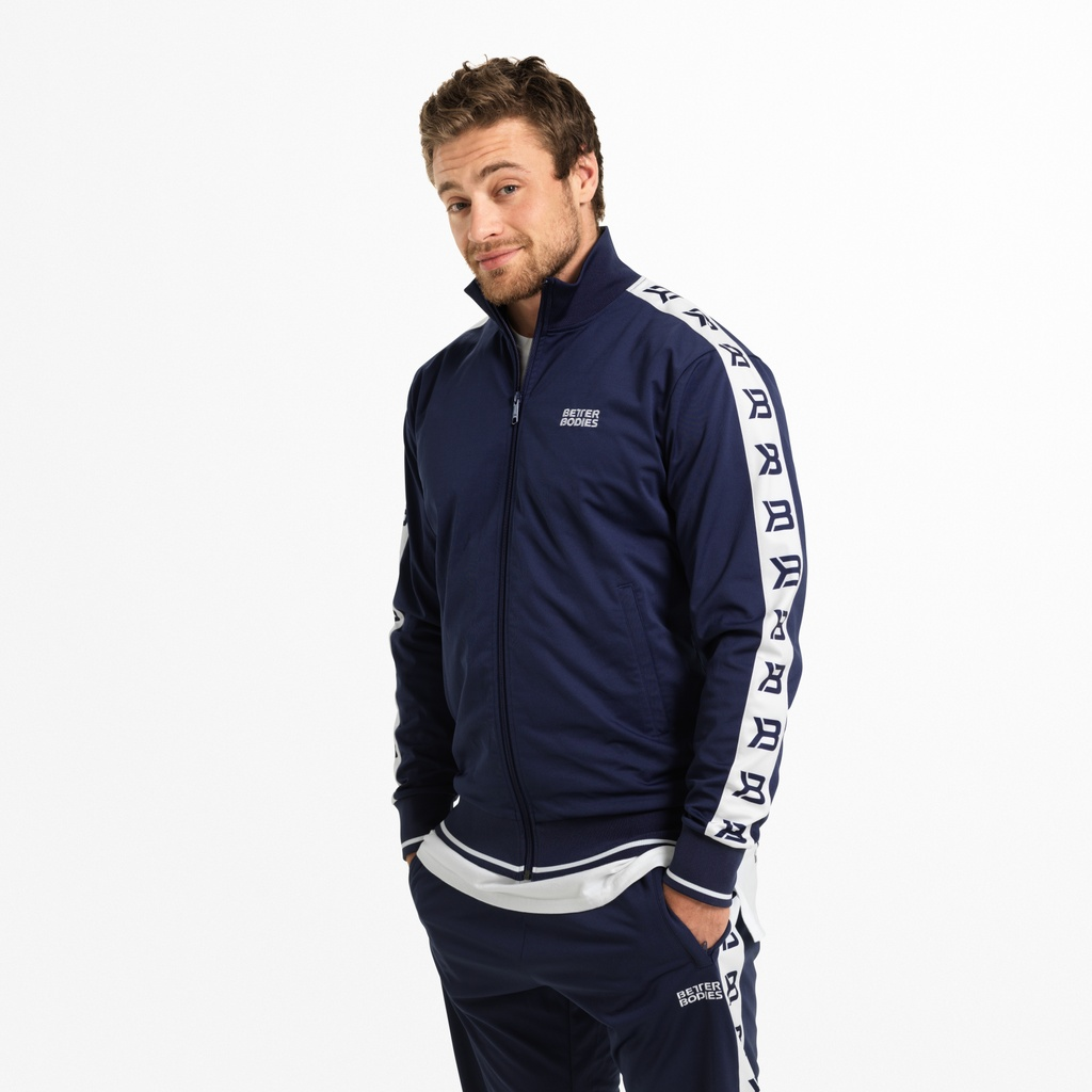 A product image of Bronx Track Jacket, Dark Navy