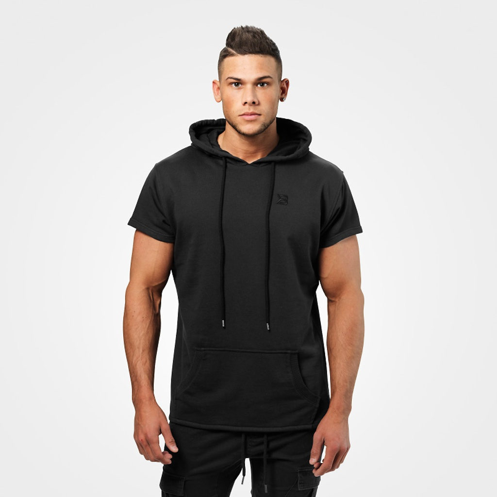 A product image of Bronx T-shirt Hoodie, Wash Black