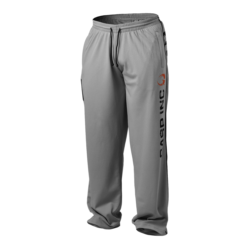 A product image of No 89 mesh pant, Light grey