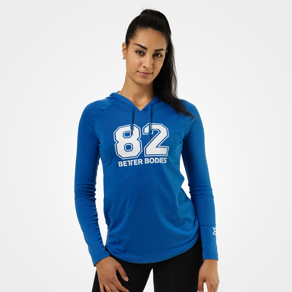A product image of Varsity hoodie, Bright blue