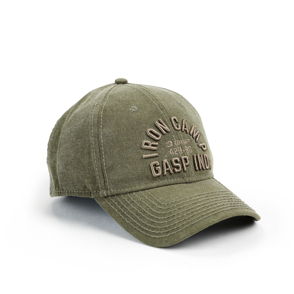 A product image of Throwback cap, Military olive