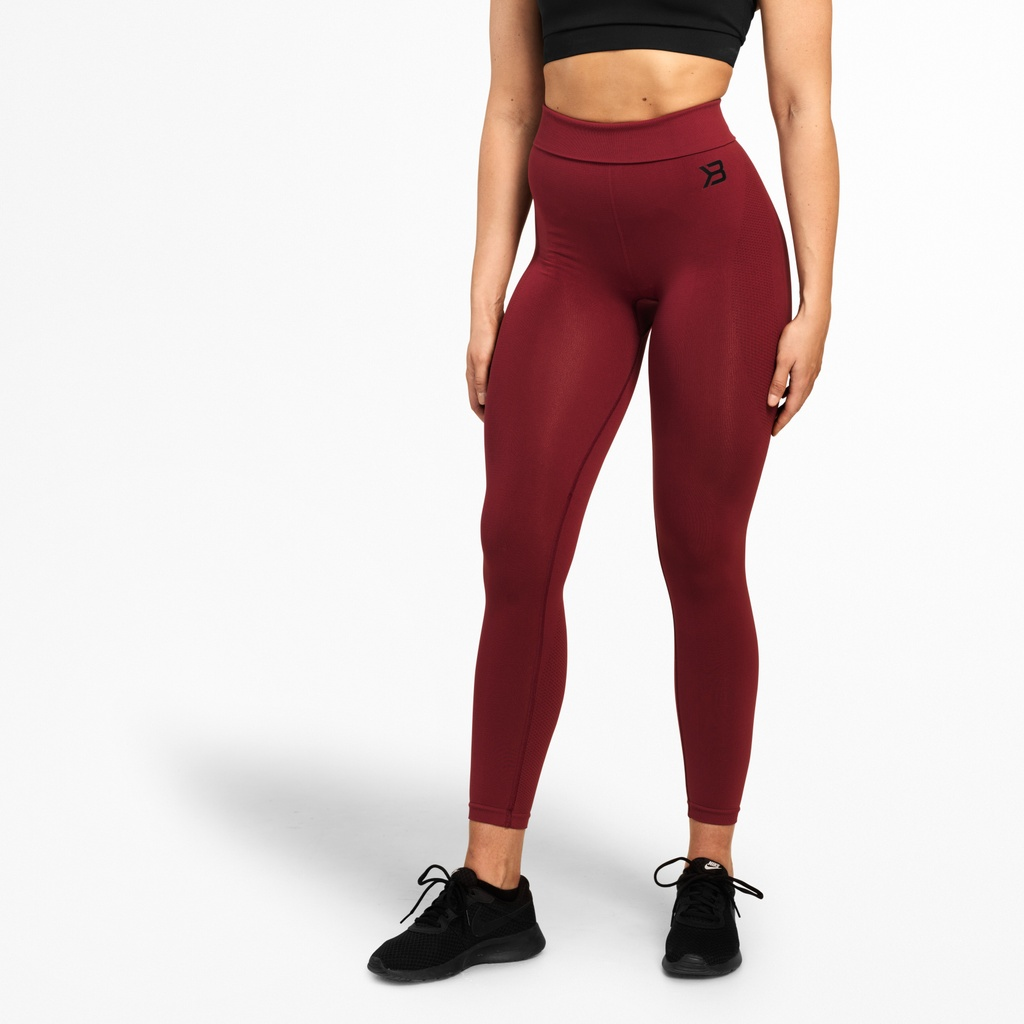 A product image of Rockaway Leggings, Sangria Red