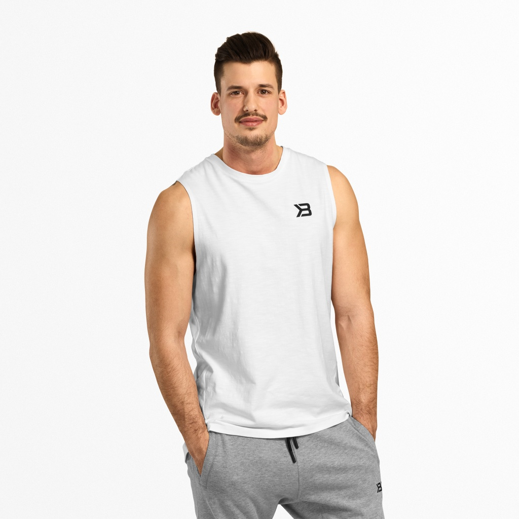 A product image of Varick Tank, White