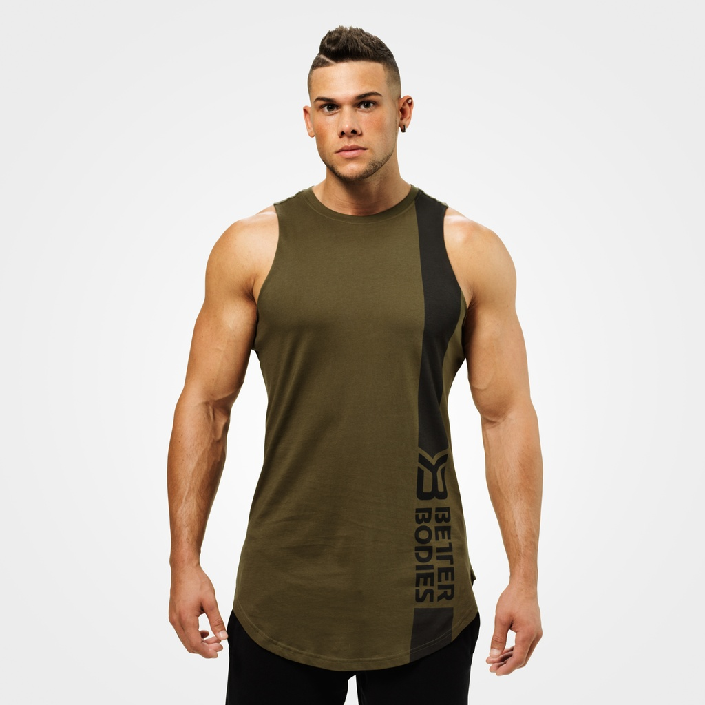 A product image of Stanton Tank, Khaki Green