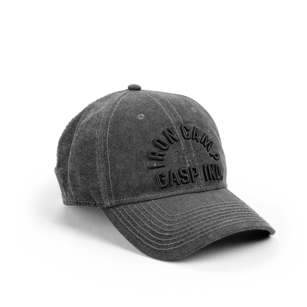 A product image of Throwback cap, Wash black