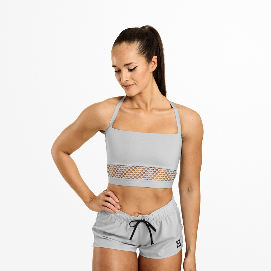 A product image of Waverly Mesh Bra, Frost Grey