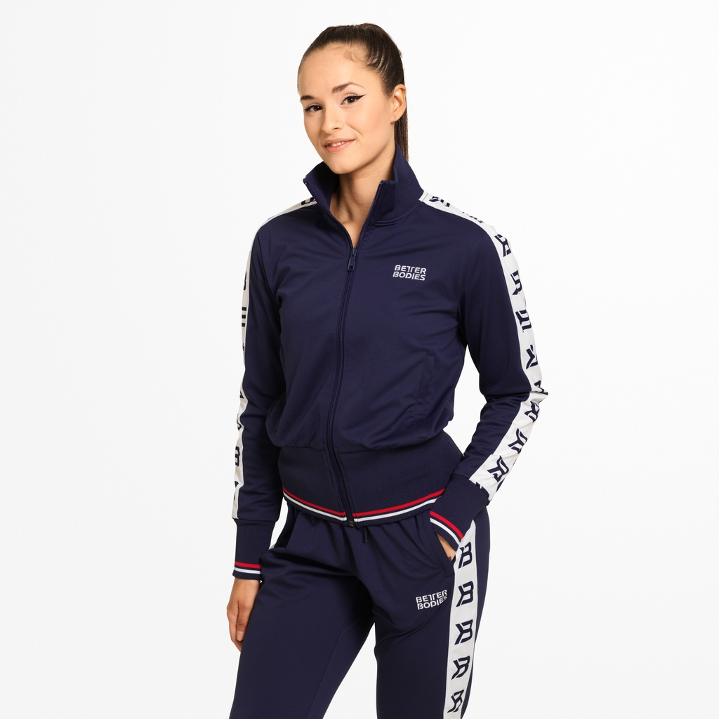A product image of Chelsea Track Jacket, Dark Navy