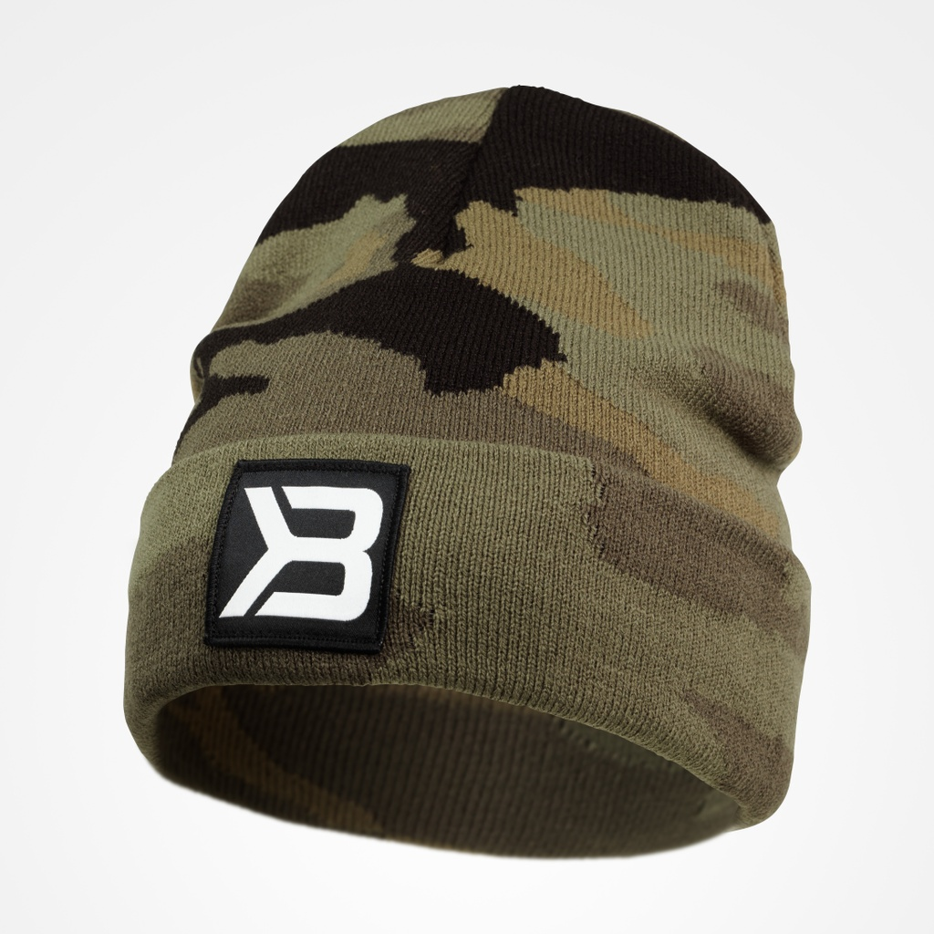 A product image of Tribeca Beanie,  Dark Green Camo
