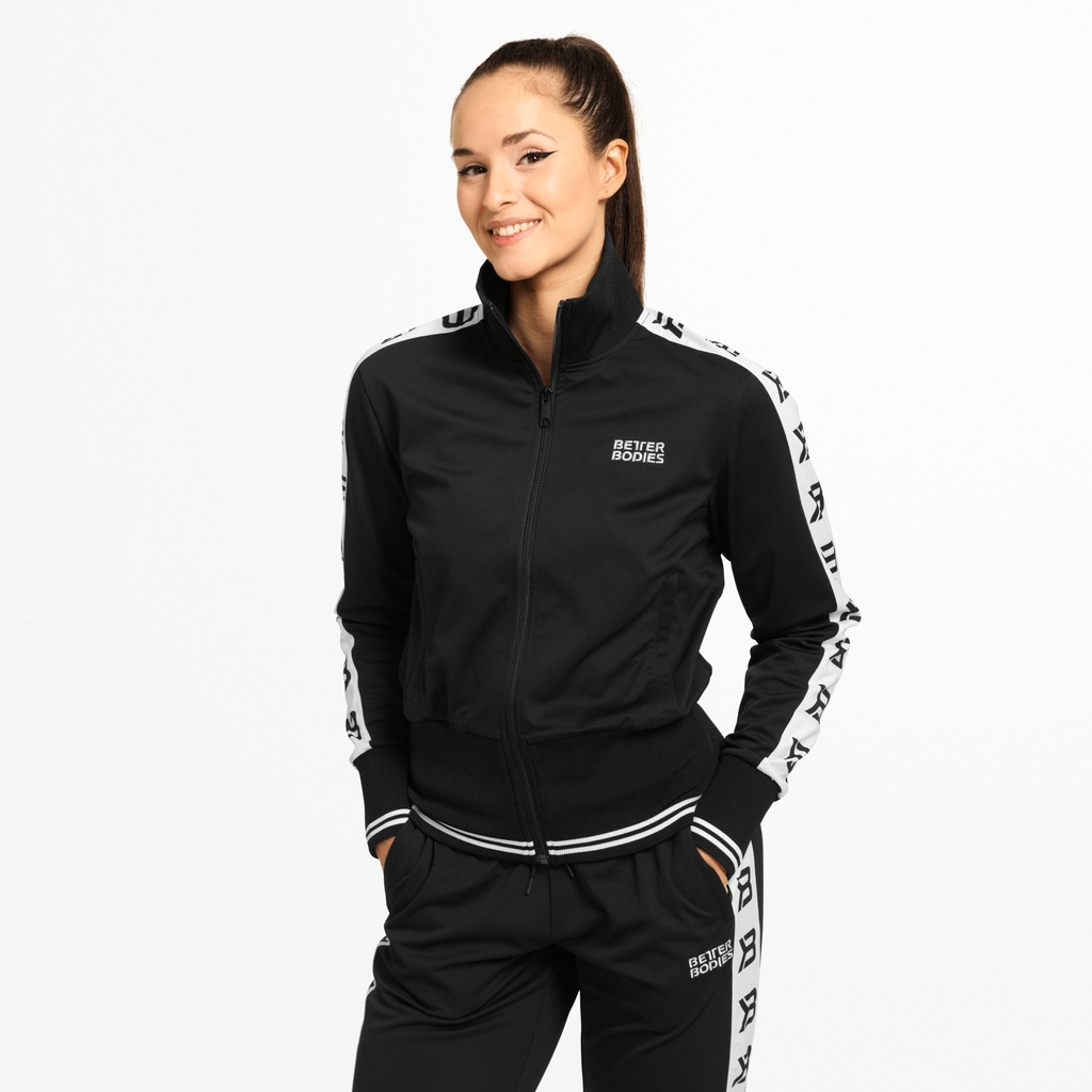 A product image of Chelsea Track Jacket, Black