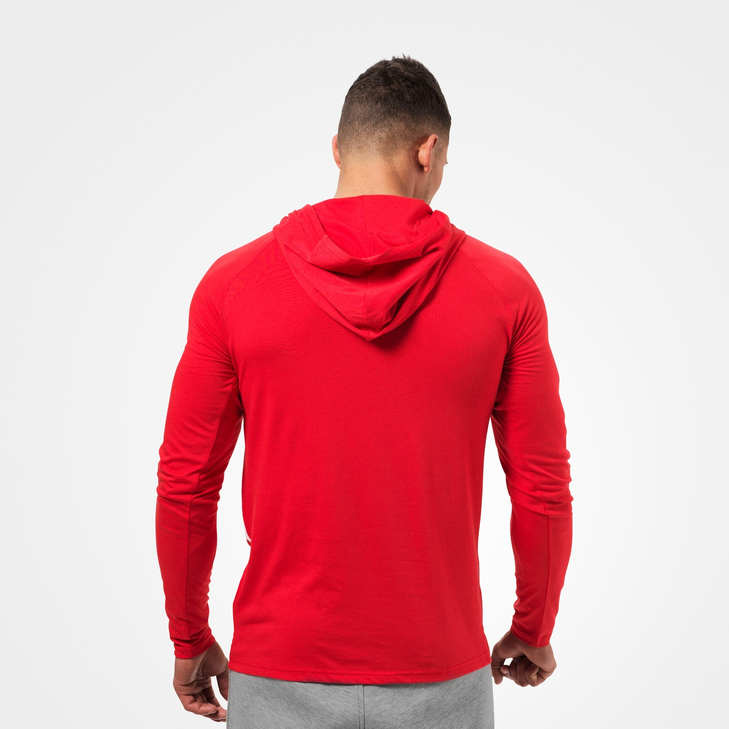 531873ab150 ... A product image of Astor Longsleeve Hoodie, Bright Red