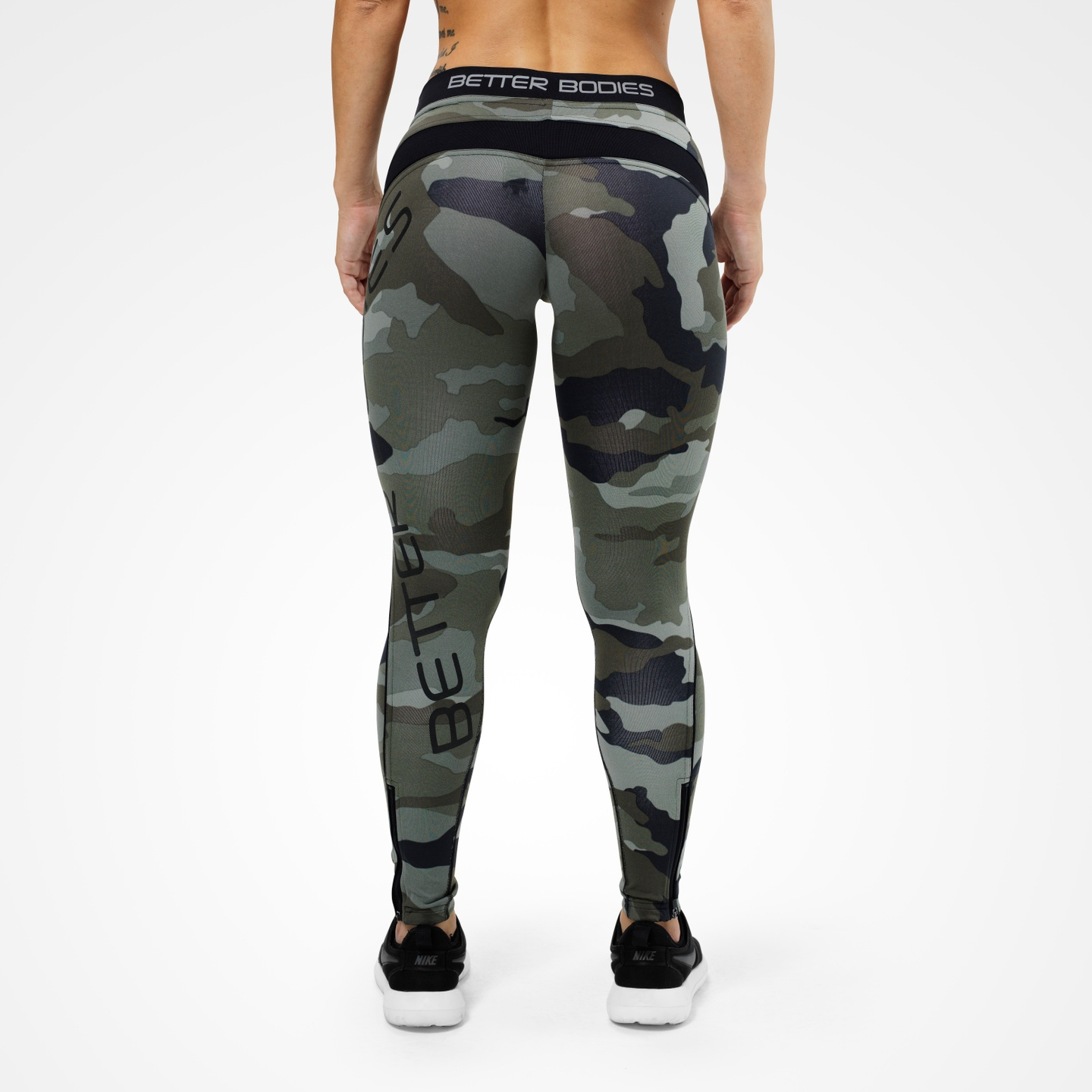 b458cba06bce8 A product image of Camo Long Tights, Green Camoprint ...