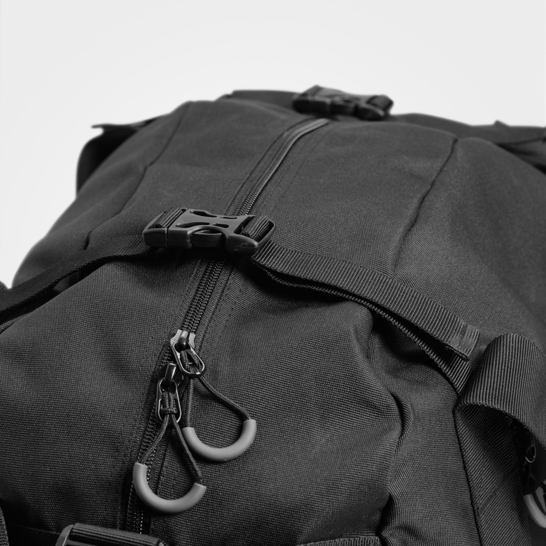 2aa59e43cc0e ... Black A product image of BB Gym bag, Black ...