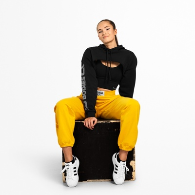 Product photo of Highbridge Crop LS, Wash Black