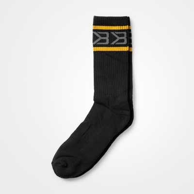 Product photo of Tribeca Socks 2-pack,  Black/Yellow